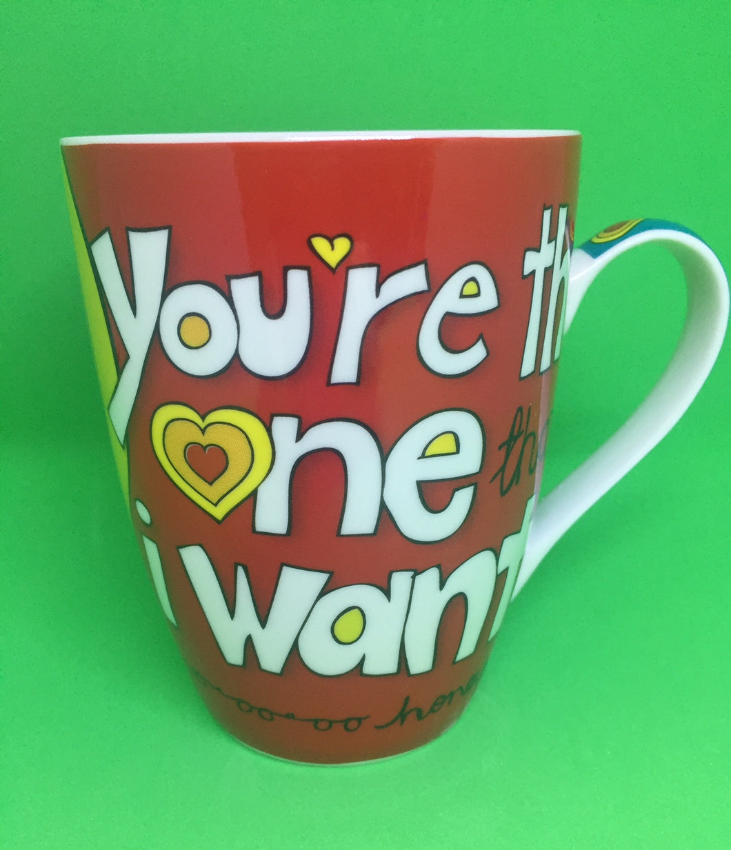 CRAZY LOVE MUG - You're the one I want