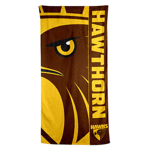AFL - Hawthorn Beach Towel