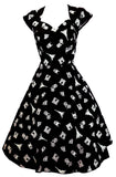 Paris Tower All Over Print Vintage Style Dress (Pack of 6)