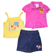 Disney Winnie The Pooh Girls 3-Piece Set (2T - 4T, pack of 12) $96 per pack