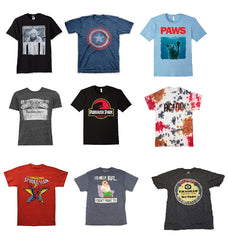 Mens Asstd SUPER PLUS Sizes 3X - 6X Licensed T-shirts ($4.50 ea)