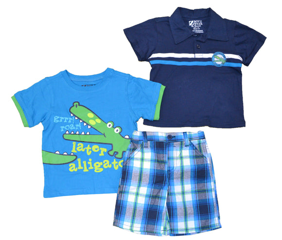 Z Boyz Alligator Boys 3-Piece Set (12m - 24m, pack of 12) $96 per pack