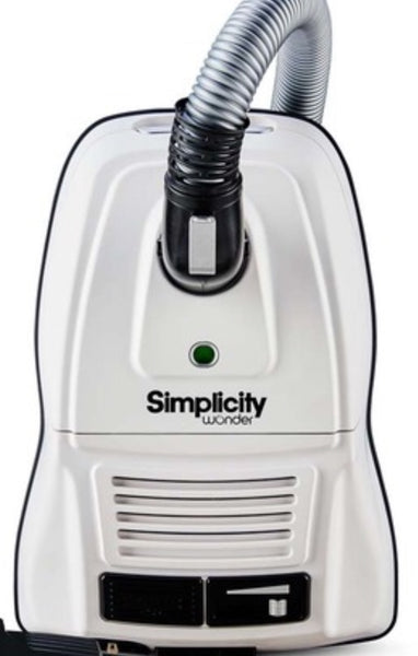 Simplicity Wonder Canister Vacuum Mid Size with Power Team  Compact Nozzle