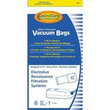 VACUUM BAG, 6 PK ELECTROLUX RENAISSANCE PLUS FILTER 4 PLY
