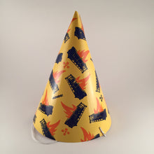 The Dumpster Fire. Set of 10 Good Riddance party hats