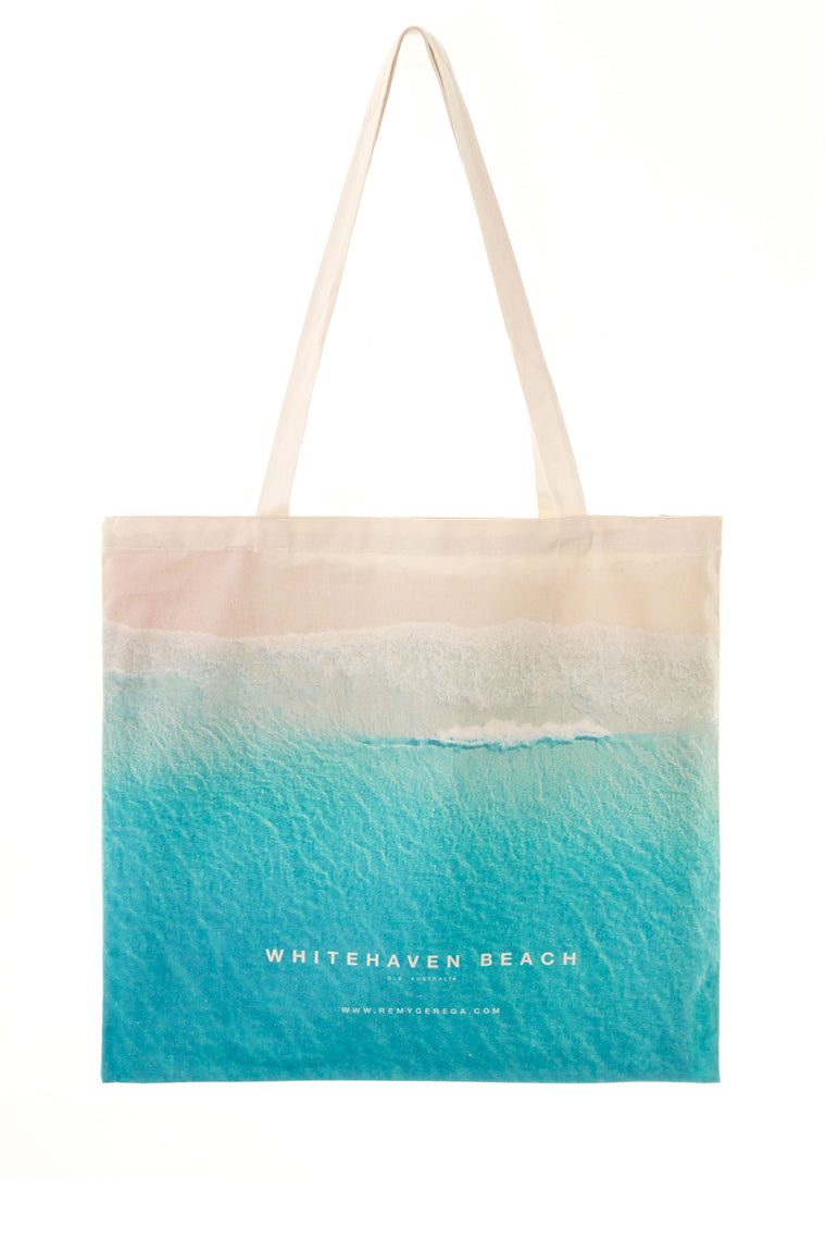 Whitehaven Beach Canvas Tote Bag