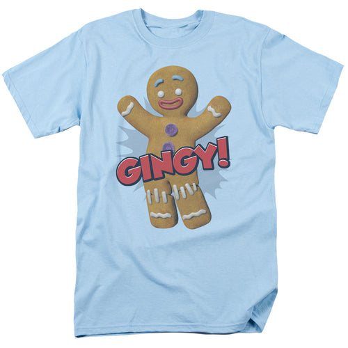 Shrek - Gingy Short Sleeve Adult 18/1