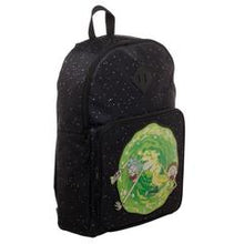 Load image into Gallery viewer, Rick and Morty Backpack  Rick and Morty Portal Bag