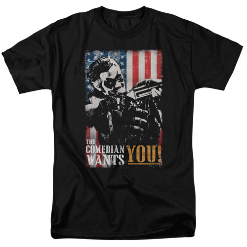 Watchmen - The Comedian Wants You Short Sleeve Adult 18/1