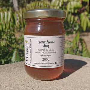 Lavender Flavoured Honey 200g Jar
