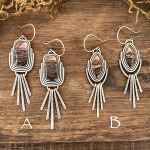 Deschutes Jasper Dangle Earrings