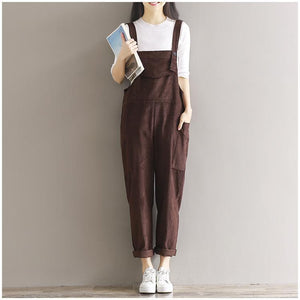 Solstice Cord Overalls (3 colors) - FashionMongerPro-Bohemian, hippie and gypsy tribe