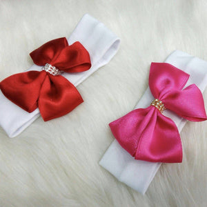 Headband - Satin Bow Headbands