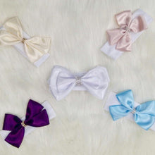 Load image into Gallery viewer, Headband - Satin Bow Headbands