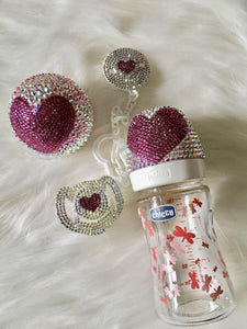 Heart Glam Baby Set