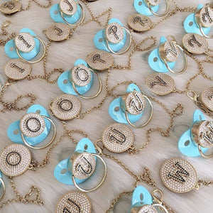 Pacifiers - Initial Custom Made Paci