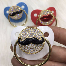Load image into Gallery viewer, Pacifiers - Mr. Mustache Paci