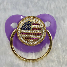 Load image into Gallery viewer, Pacifiers - U.S Flag Pacifier