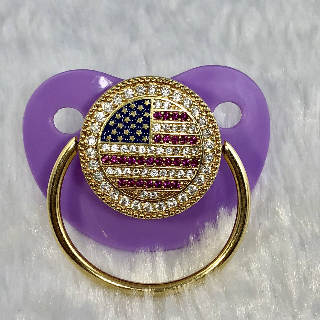 Pacifiers - U.S Flag Pacifier