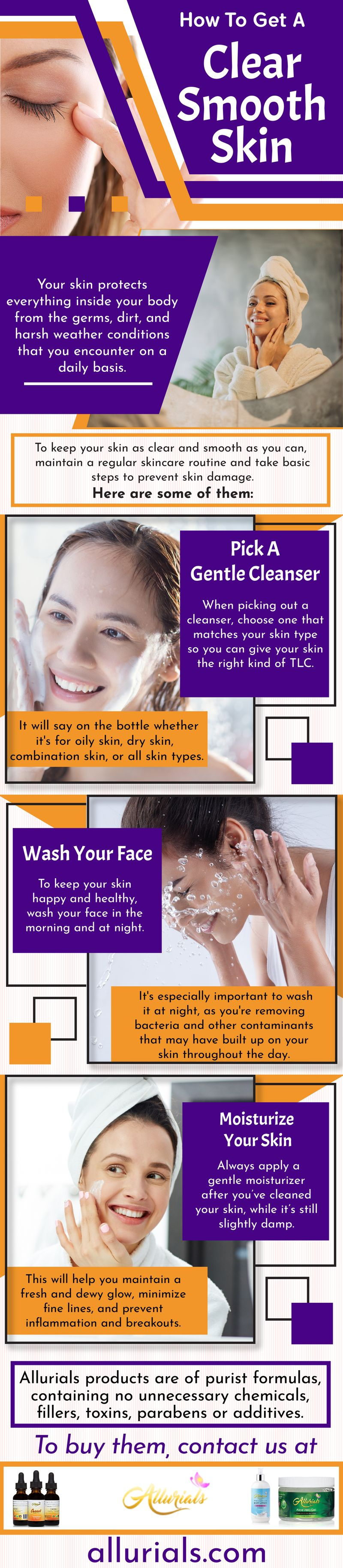 How To Get A Clear Smooth Skin