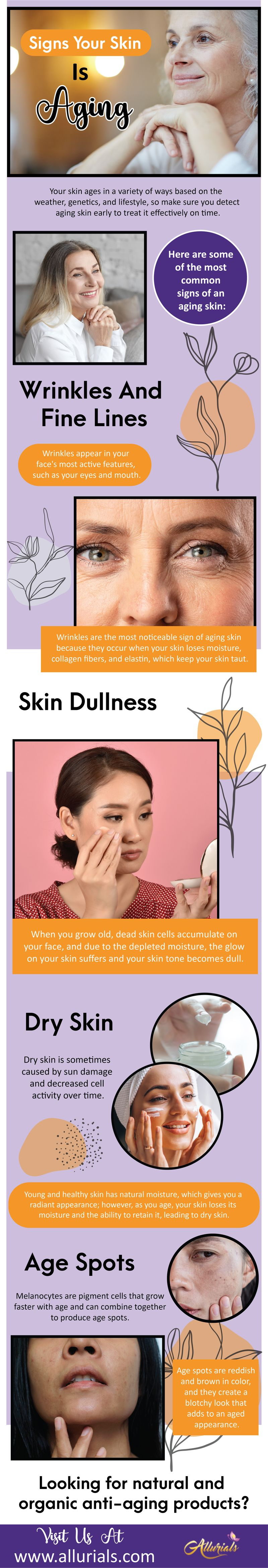 Signs Your Skin Is Aging