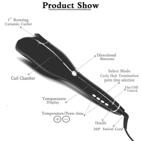 Image of Automatic Curling Iron