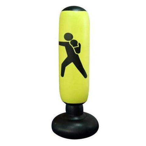 Image of Inflatable Boxing Speed Punching Bag Stress Punch Tower