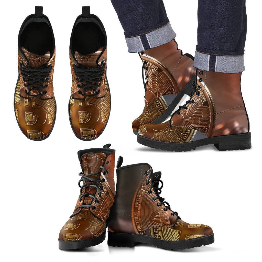 BitCoin High Top Shoes  and Boots.