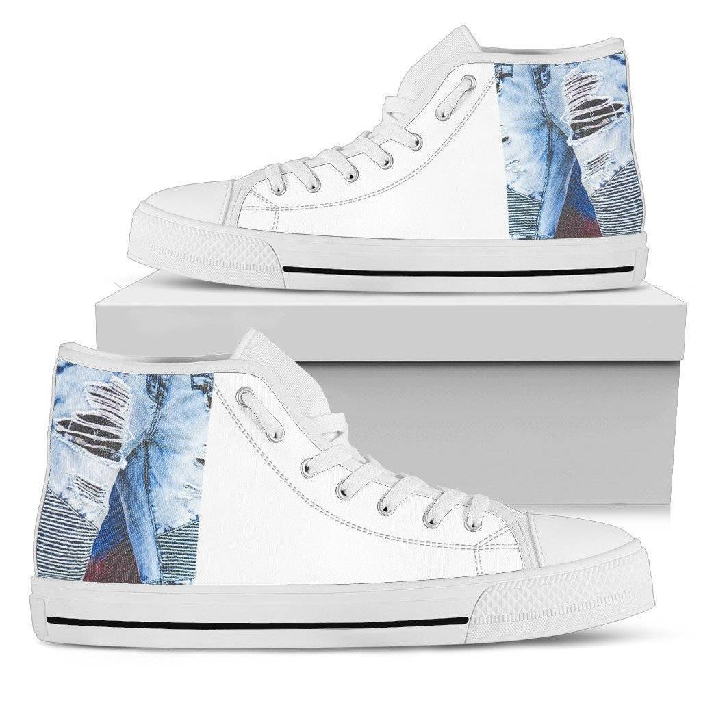Ladies Denim Hightop