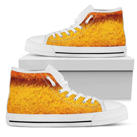 Ladies Fluff Looking High Tops