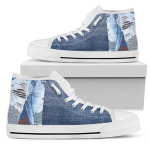 WOW Men's Hightop Sneakers