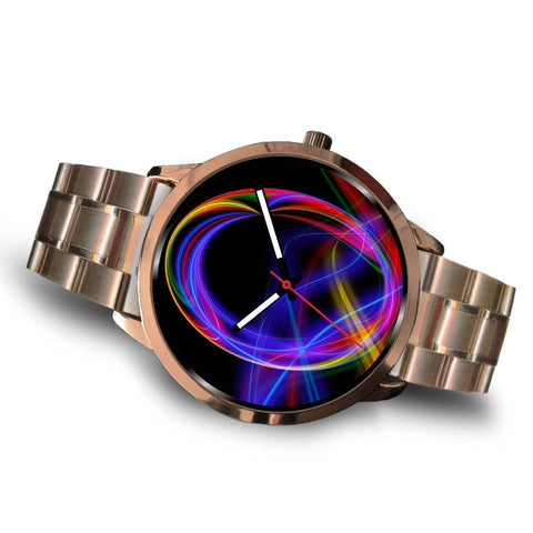 Image of ROSE GOLD GRAPHICS WATCH