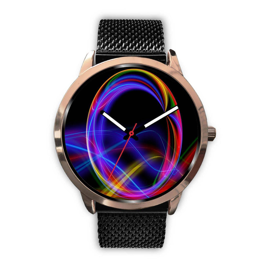 ROSE GOLD GRAPHICS WATCH