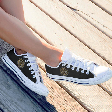 White Low Tops