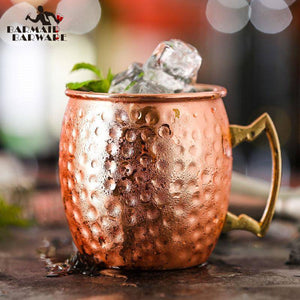 Moscow Copper Plated Beer Mug