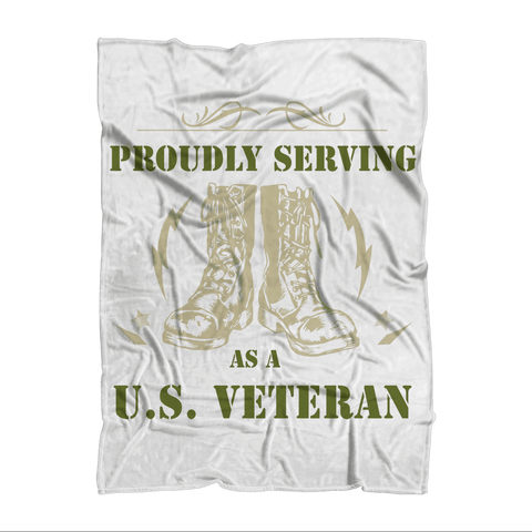 ArmyVET Premium Sublimation Adult Blanket