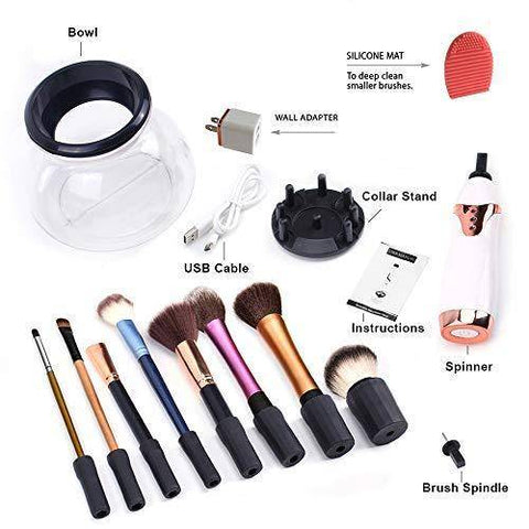 USB Rechargeable Makeup Brush Cleaner