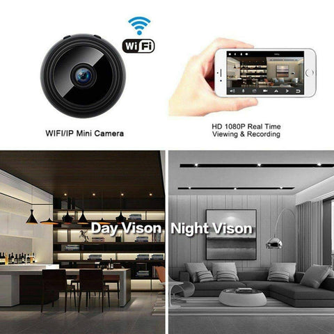 Night Vision Wireless IP Camera