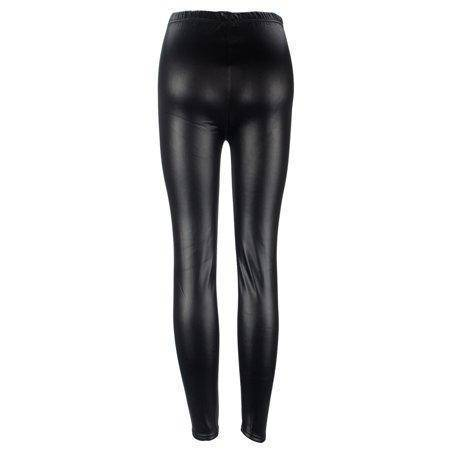 Image of Winter Warm Faux Leather Leggings
