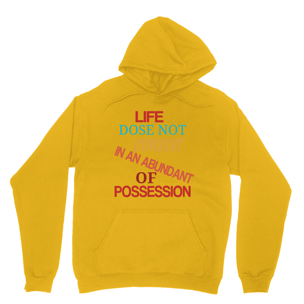 LIFE Classic Adult Life Hoodie