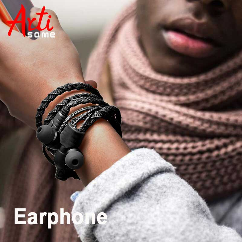 Wired Bracelet Earphone