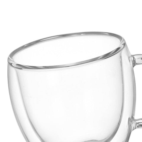 Image of Double Glass Coffee Mug