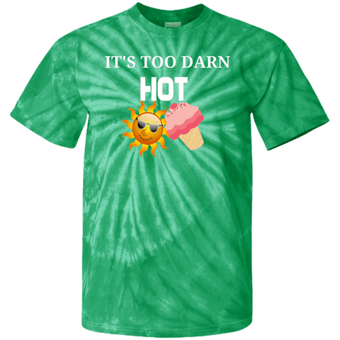 Image of Too Darn Hot Youth Tie Dye T-Shirt
