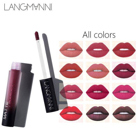 LONG LASTING WATERPROOF MATTE LIPSTICK
