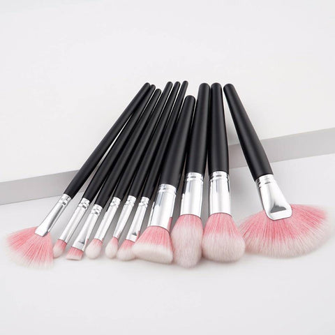 Image of 10cs Face Beauty Makeup brush Set