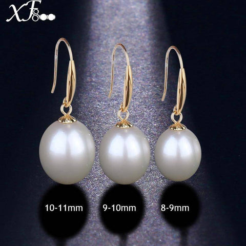 18K Gold Drop Earrings