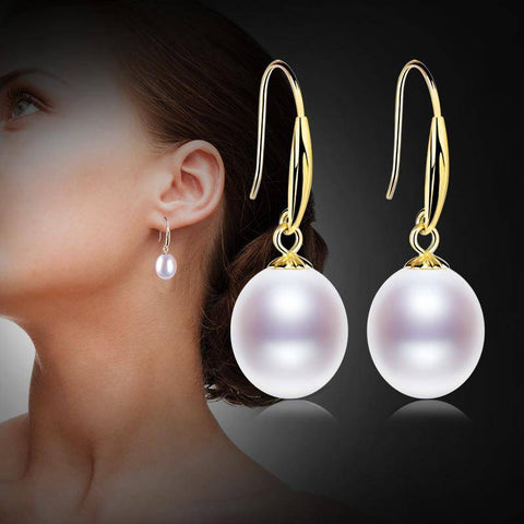 Image of 18K Gold Drop Earrings