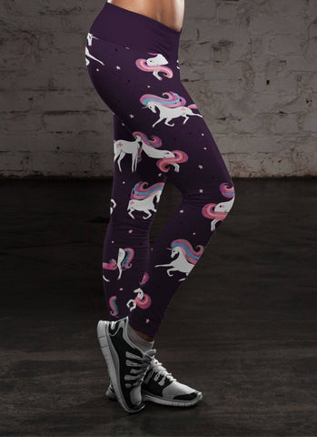 Image of Stars and Unicorns Leggings