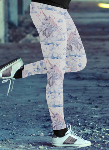 Image of Unicorn Sky Leggings
