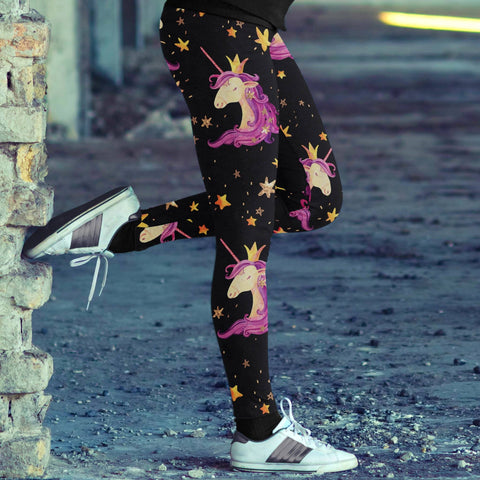Image of Unicorn Princess Leggings